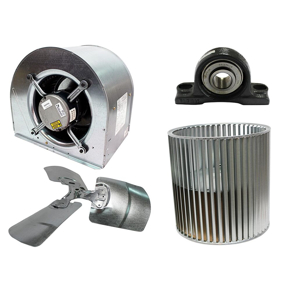 Blowers, Fan Blades & Components