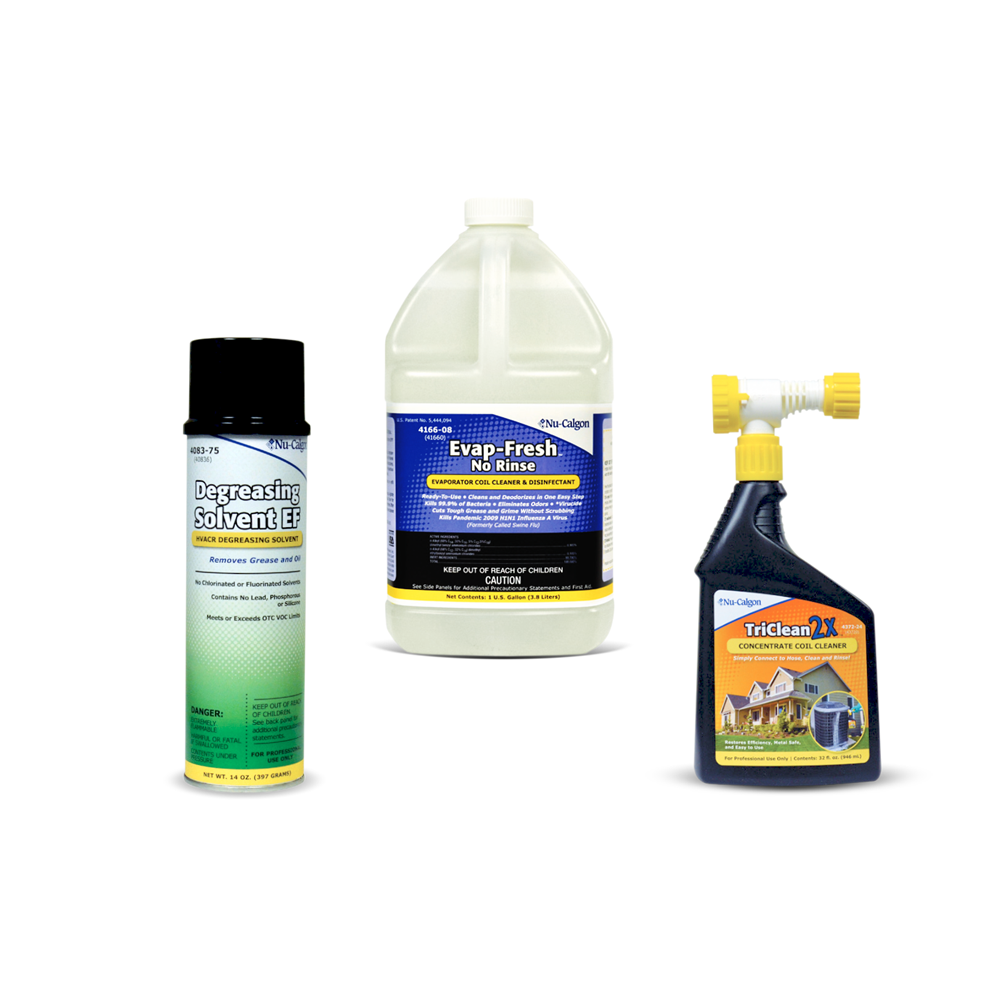 Coil Cleaners & Degreasers