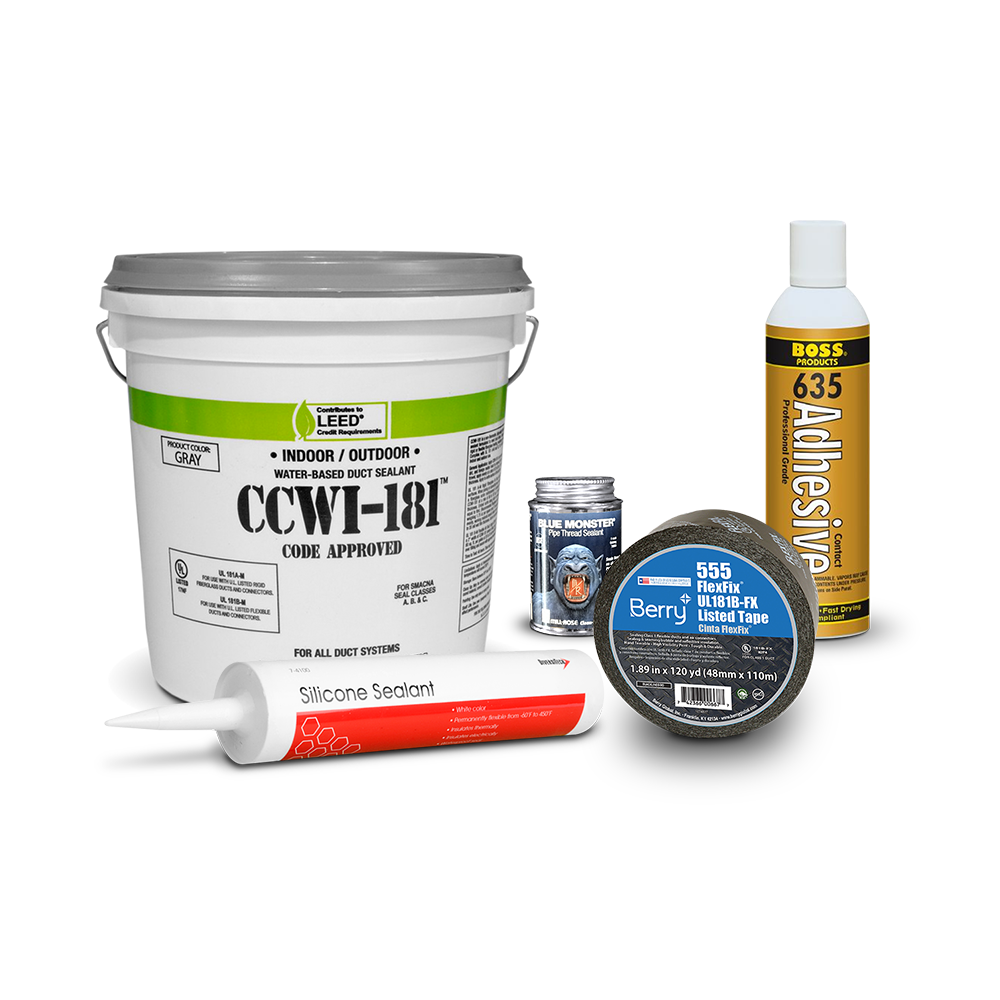 Duct Sealers, Tape & Adhesive