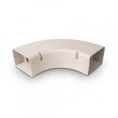 "SpeediChannel™ Line Set Cover 90° Long Radius Bend 4"""