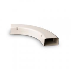 "SpeediChannel™ Line Set Cover 90° Long Radius Bend 6"""