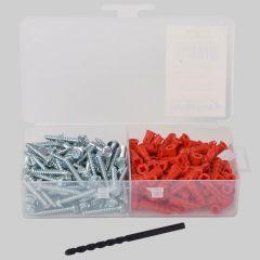"""DiversiTech® Anchor Kit 5/16"""" Hex Head 10x1-1/4"""" (1/4"""" x 1"""" Anchors)"""