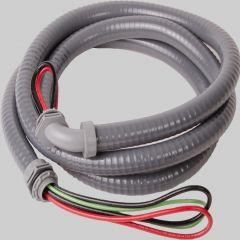 "1/2"" Whip 6' #10 THHN Wire - Non-Metallic Connectors"