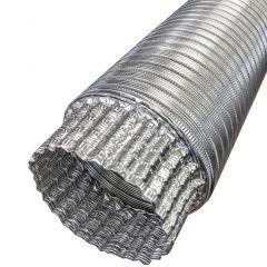 """6"""" Aluminum Flex Duct 8'"""