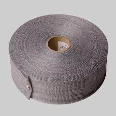 "DiversiTech® Woven Polypropylene Hanging Strap, 1-3/4"" x 100 Yards - Silver"