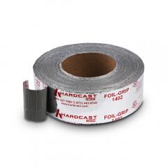 """Hardcast® Foil Grip™ 3"""" Butyl Tape 100' - Silver"""