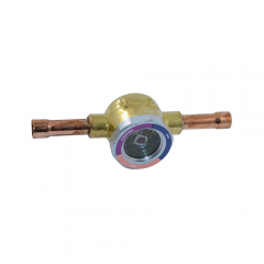"""Sight Glass/Moisture Indicator 3/8"""" ODF x 3/8"""" ODF (Extended Ends)"""