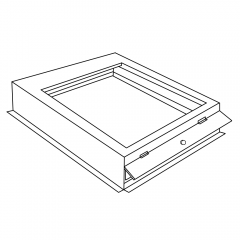 """Fan Coil Filter Base 20"""" x 20"""" x 4"""" (for 1"""" & 2"""" Filters)"""