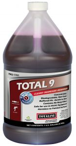 Total 9 Buffered ph Cleaner Concentrate 1gal.