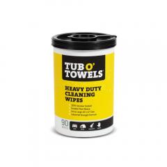 Tub O' Towels® Heavy Duty Cleaning Wipes 90pk