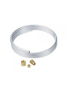 "RobertShaw® Aluminum Tubing, 1/4"" x 5'"