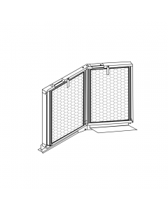 """20"""" x 32"""" Filter Rack with Filters"""
