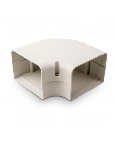 "SpeediChannel™ Line Set Cover 90° Flat Elbow 4"""