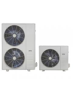 38MBRBQ Single Zone DFS Heat Pump Condenser, 208/1