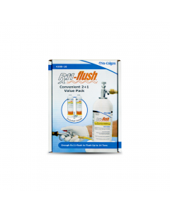 Rx11-flush® Pack with Injection Valve 1lb 2pk