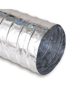 """4"""" Non-Insulated Aluminum Flex Duct 25'"""