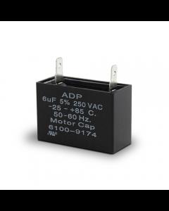 OEM 6µF Oil Pump Capacitor 250v
