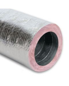 """8"""" Insulated (R8) Flex Duct 50'"""