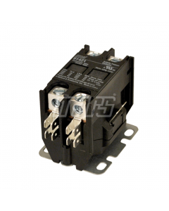 Mars® Contactor 2 Pole, 24V Coil, 40FLA, 50RA, Lug Terminals
