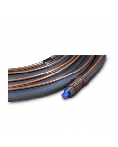 """Standard Line Set 3/8"""" x 3/4"""" x 50' with 3/8"""" Pipe Insulation (18/8 T-Stat Wire)"""