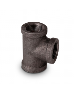 "Black Iron Pipe Tee 1/2"" FIP (cl150 - Sch40)"