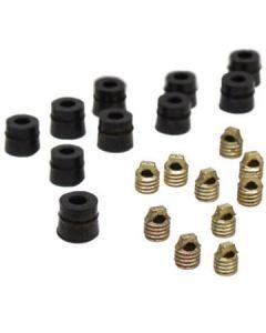 """CPS® 1/4"""" Neoprene Gaskets & Core Depressors 20pk"""