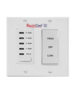 QuietCool STL Pro 6.5 Switch and Plate