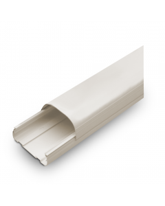 """Rectorseal® Line Set Cover Duct 4-1/2"""" x 8' (Ivory)"""