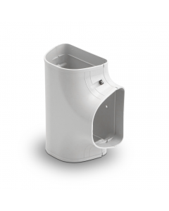 "Rectorseal® Line Set Cover Tee 4-1/2"" (White)"