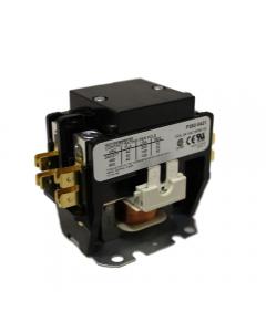 Totaline® Contactor 2 Pole, 24Vac Coil, 40FLA, 50RA, Lug Terminals