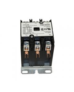 Totaline® Contactor 3 Pole, 120Vac Coil, 40FLA, 50RA, Lug Terminals