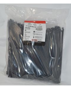 P298-TF6XB  black 11-1/2- cable ties(1000)