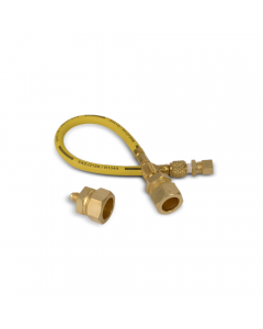 "DiversiTech® Pro-Flush™ Line Set Adapter - Includes Fittings for 3/8"" 3/4"" & 7/8"""